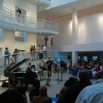 Friday Night Jazz event in Robinson Atrium of High Museum of Art