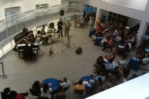 High Museum of Art: Friday Night Jazz Band View From Above